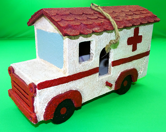 World's largest collection of toy ambulances.