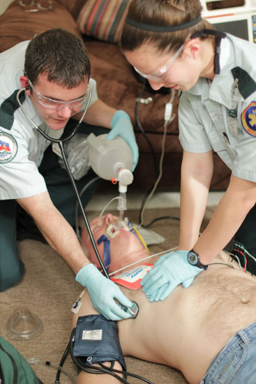 High-performance CPR requires substantial training.