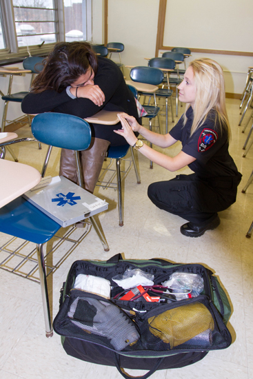 EMS providers can help sexual assault victims who present with other symptoms.