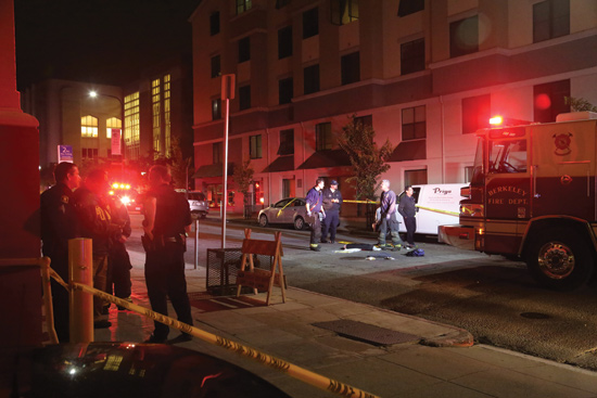 EMS responds to Berkeley balcony collapse