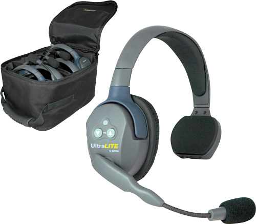UltraLITE full duplex, wireless headphone system from Eartec