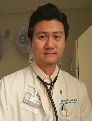 hospitalist Robert Lee, MD
