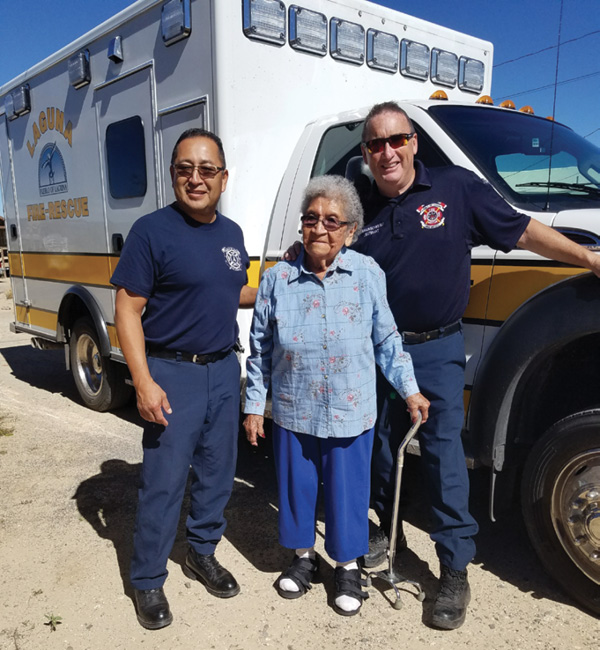 Laguna Community Paramedics saw their first patient in September 2015 and by mid-2017, they'd visited 11 unique patients a total of 221 times.