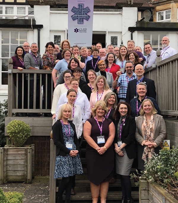 The Global Paramedic Leadership Alliance held its inaugural summit at the end of March in Warwick, England.Photo courtesy Vince Robbins