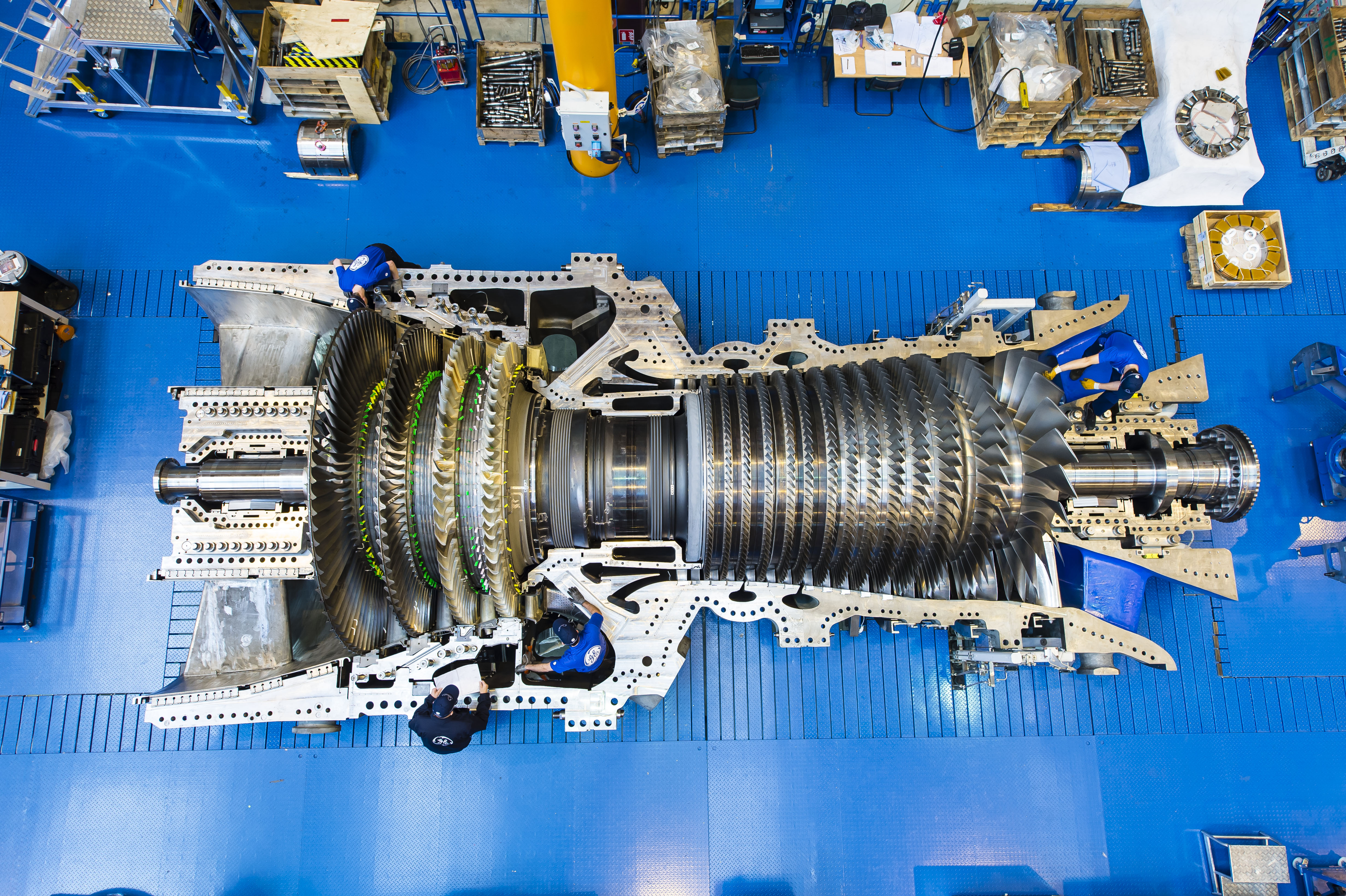 GE adds on to orders of natural gas fired turbine Power Engineering