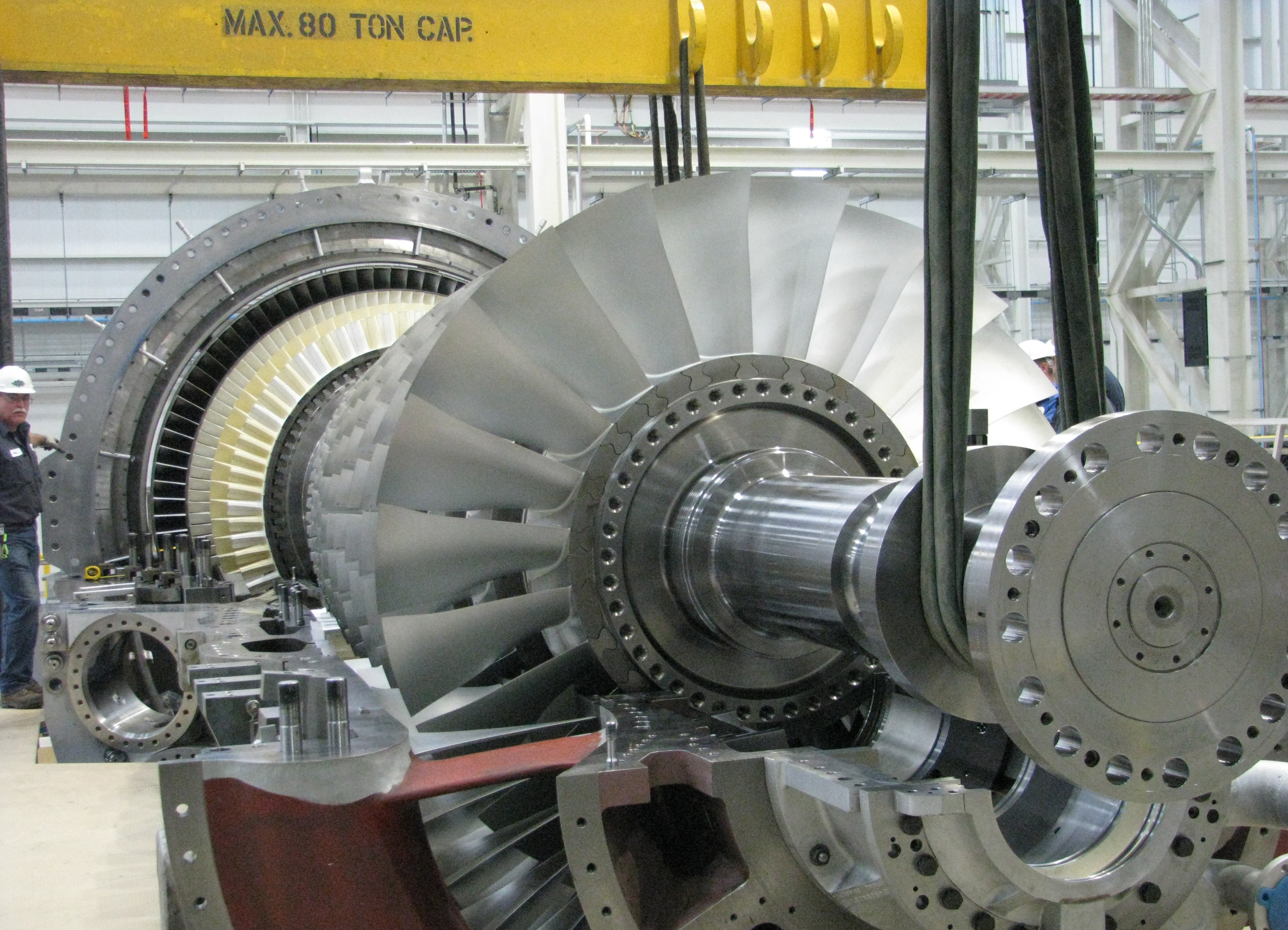 Siemens reaches additional natural gas fired turbine emissions