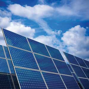 Solar installations increase.