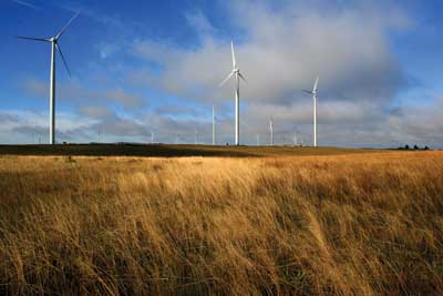 Impsa's Beaches Paraju wind farm