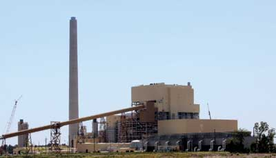AEP's new John W. Turk, Jr. coal-fired power plant in Arkansas is expected to be commissioned by the end of 2012. Photo courtesy of American Electric Power.