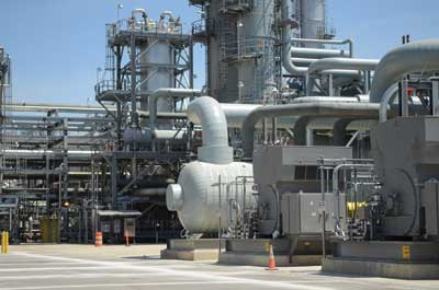 The integrated gasification combined cycle technology on site. Photo courtesy of Duke Energy