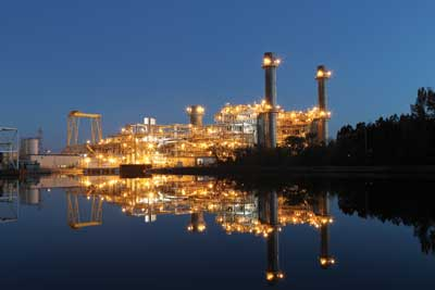 The 625-MW L.V. Sutton combined-cycle natural gas plant began commercial operation in November 2013.