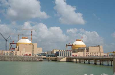 nuclear Runner up: Kudankulam 1 nuclear power plant