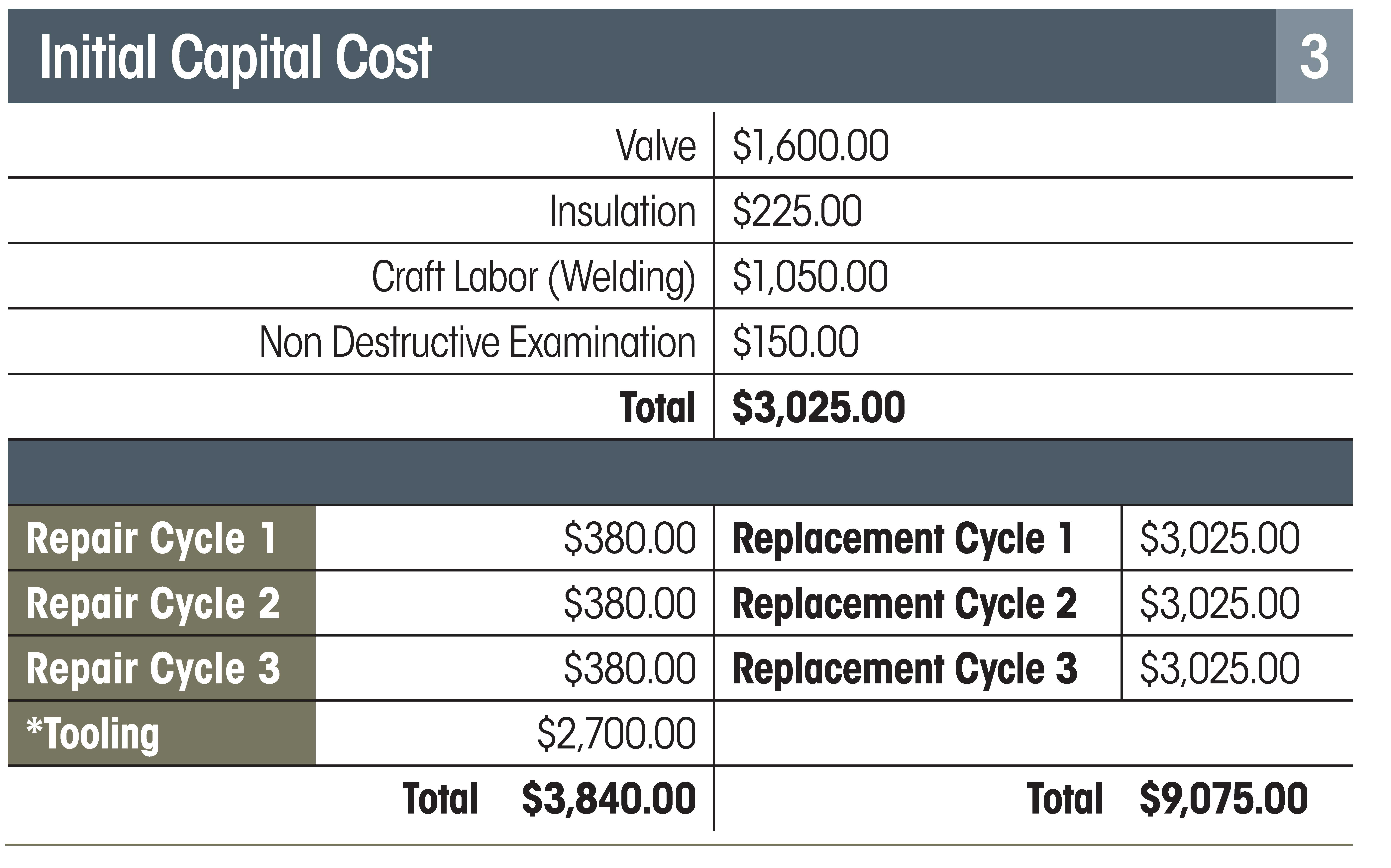 Cost Benefits of Critical Valve Repair in the Heat Recovery Steam