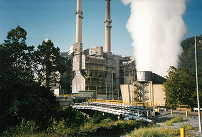 Two coal-fired generating units at Appalachian Power's Clinch River Power Plant in Virginia are being converted to burn natural gas. The project is expected to be completed by spring 2016. Photo courtesy: American Electric Power