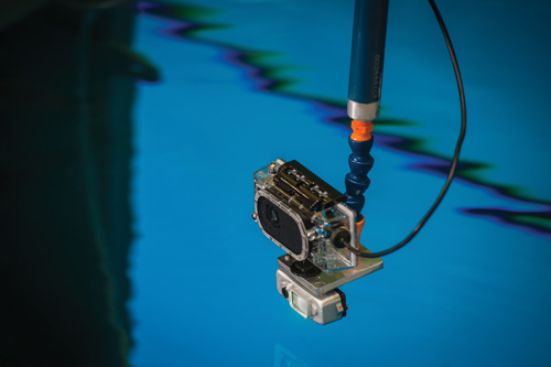 This technology takes photogrammetry underwater and without the need for adhesive targeting. Photo courtesy: AREVA NP