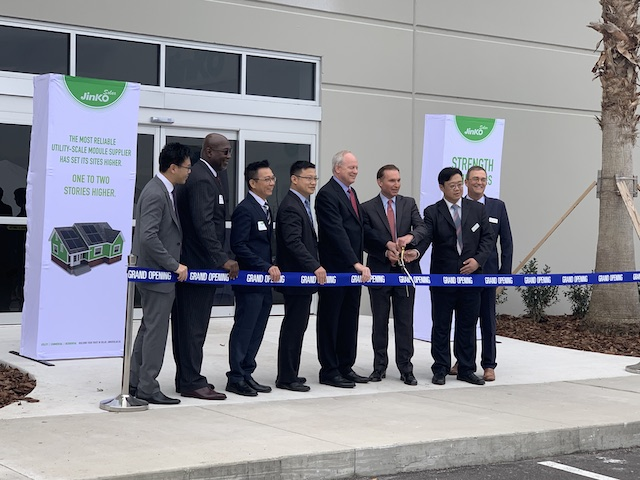 First Chinese-owned solar PV manufacturing plant opens in