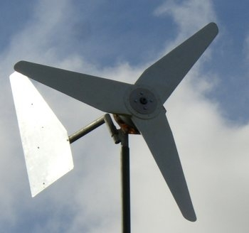 "Installing a Small Wind Generator - the Southwest Windpower ""Air 403"""