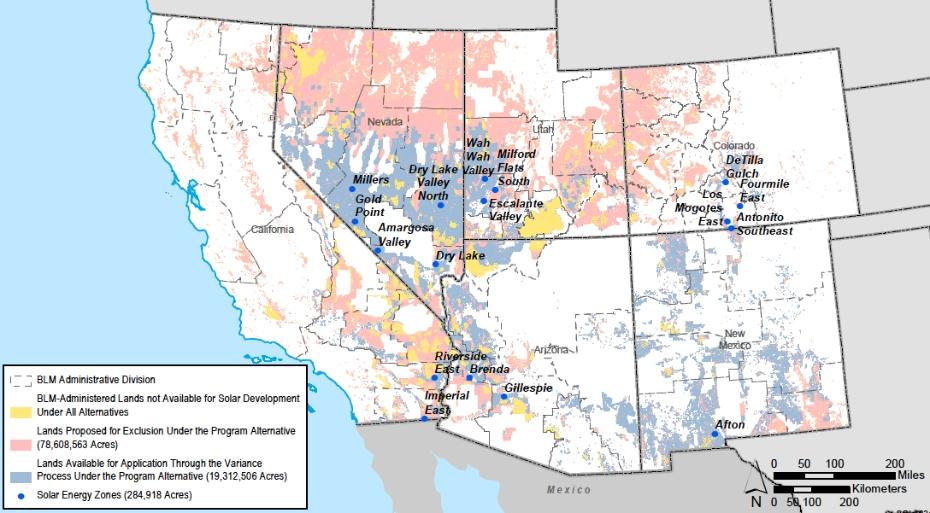 UPDATE: Western Solar Zones to Streamline Development on ...