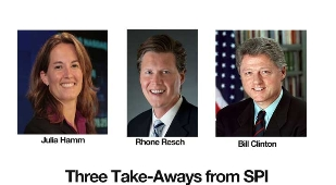 Three Take-Away Solar Messages from Hamm, Resch, and Clinton at SPI