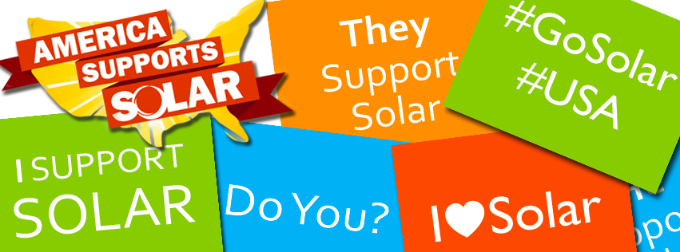 National Shout Out for Solar Day - Credit: SEIA