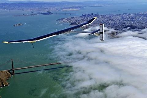 Solar-Powered Plane to Circle the Globe