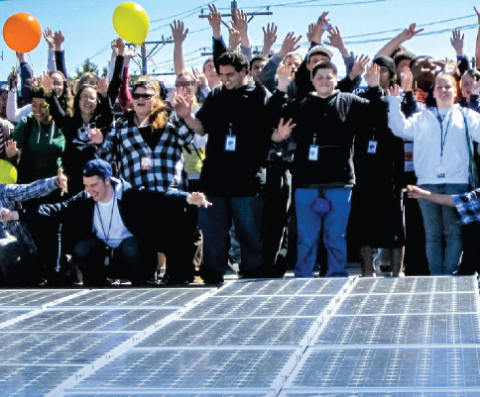 The Untapped Potential of Solar Schools in Massachusetts
