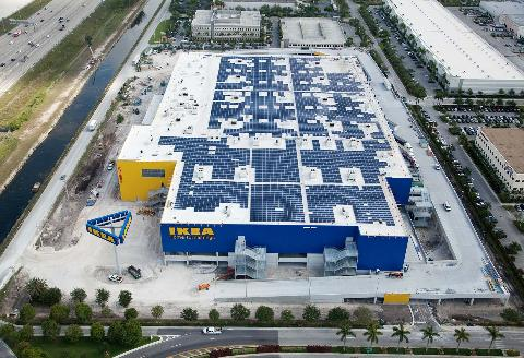 IKEA: Rooftop solar project for Kansas facility reaches operation